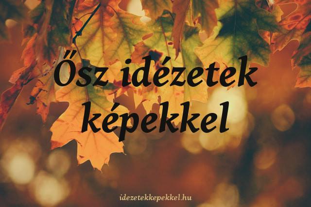 ősz idézetek
