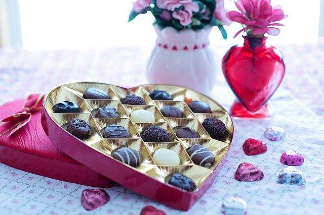 valentin napi csoki